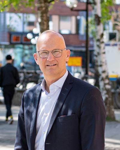 Christer Bergh VD/Fastighetsmäklare