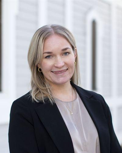 Line Tallberg Ansvarig mäklare