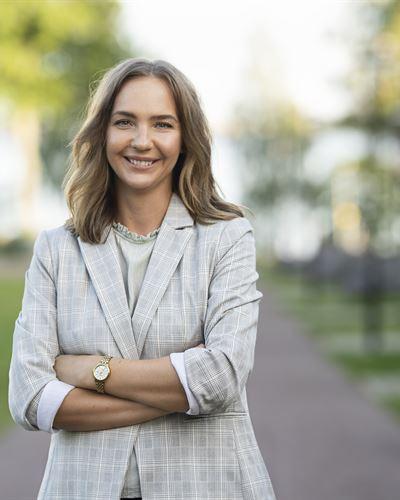 Johanna Hallberg Ansvarig mäklare