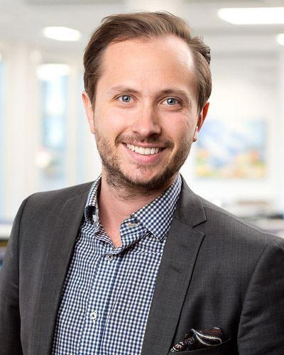 Daniel Ekdahl Ansvarig mäklare