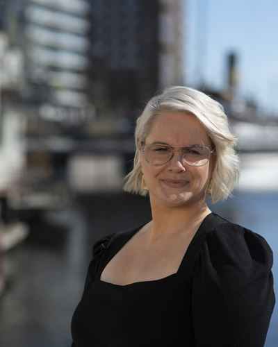 Malin Kårlin Fastighetsmäklarassistent