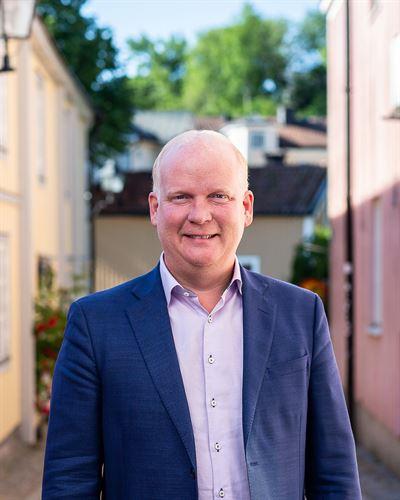 Björn Strömberg Wallerström Assisterande mäklare