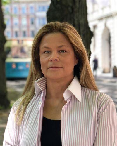 Elisabet Haglid Evander Kontorschef