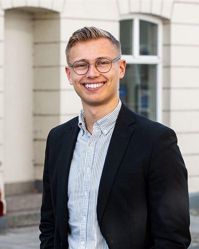 Elis Gustafsson Praktikant