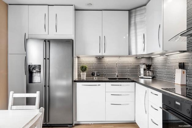 Kök renoverat 2016. Kyl och frys med vatten och ismaskin