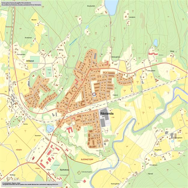Karta Rävlanda