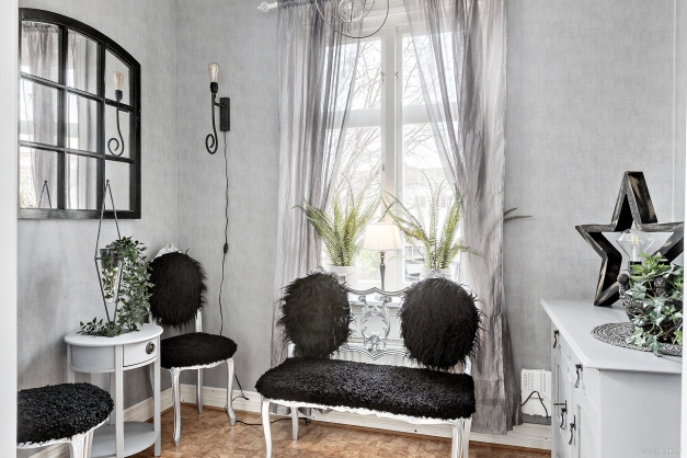 Bra utrymme för exempelvis hemmakontoret