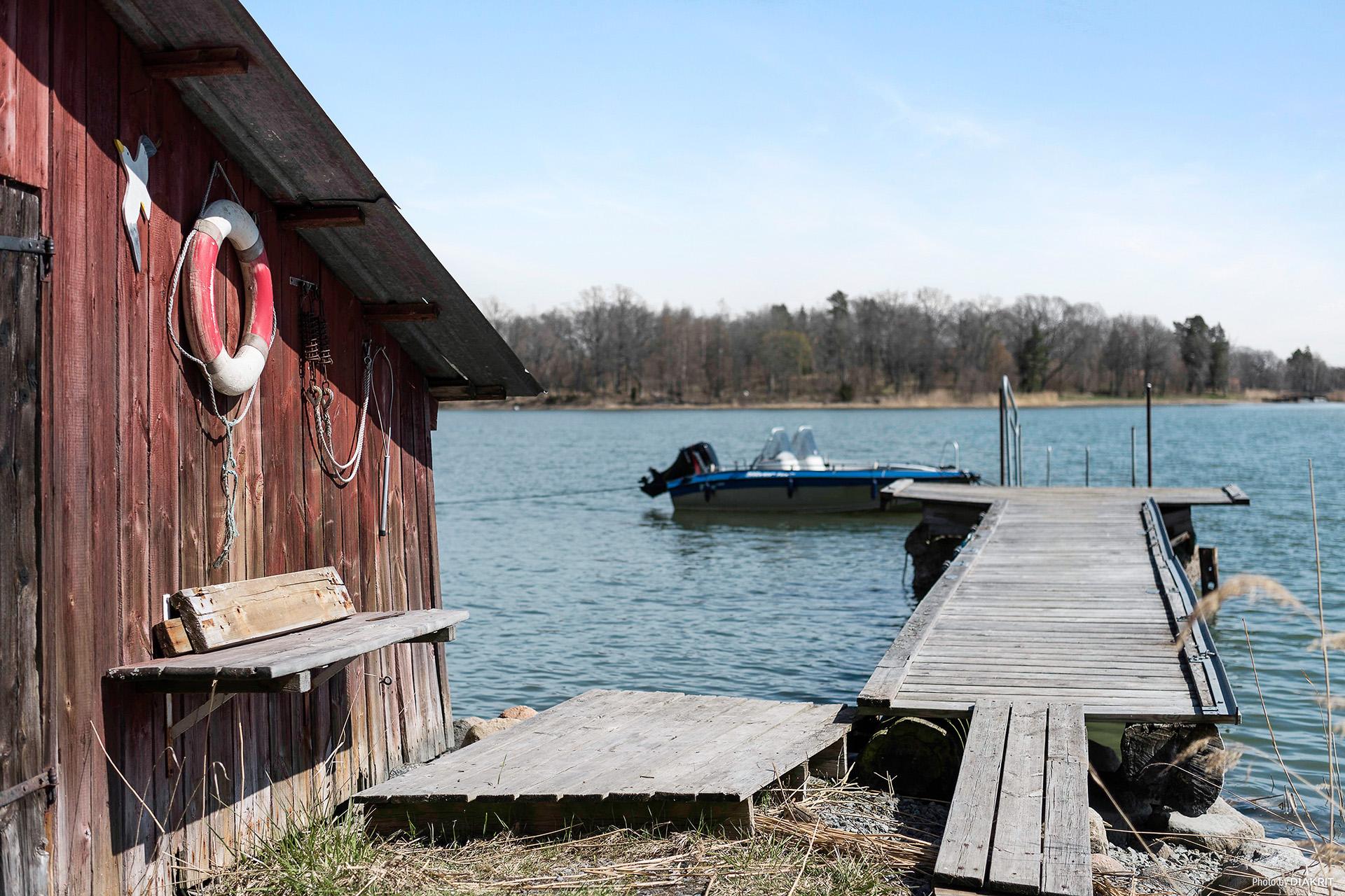 Servitut till bad- och båtplats