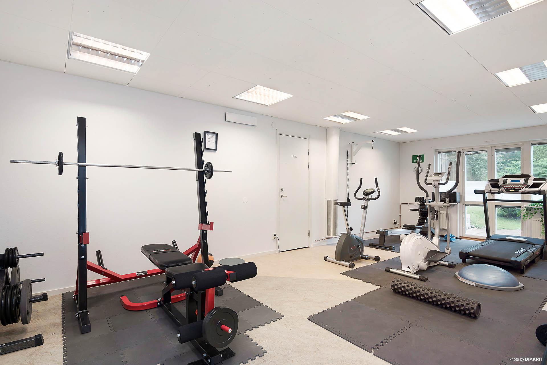 Gemensamt gym