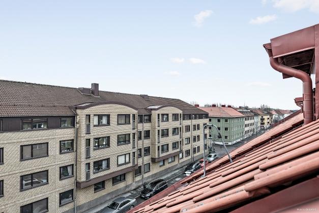 Utsikt från lägenhet