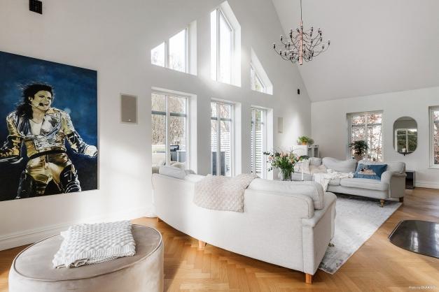 Vackert vardagsrum