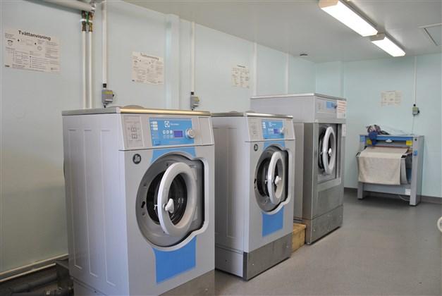 Exempel tvättstuga