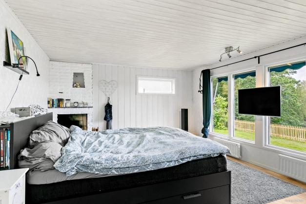 Vardagsrum/sovrum med fantastisk utsikt