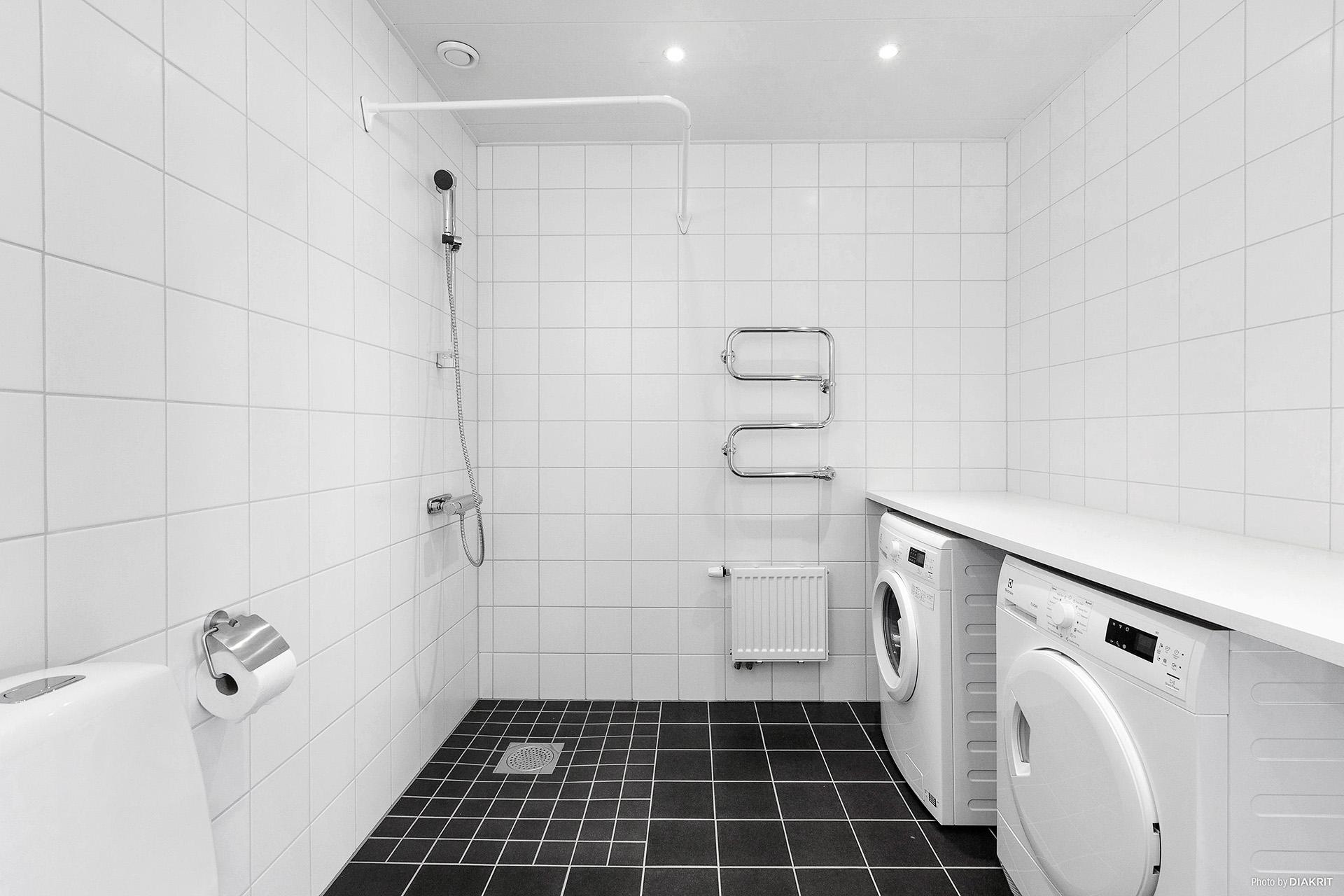 Tvättstuga/duschrum
