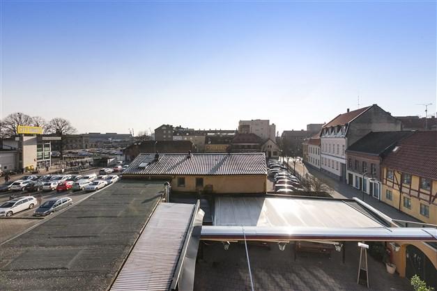 Utsikt från terrass
