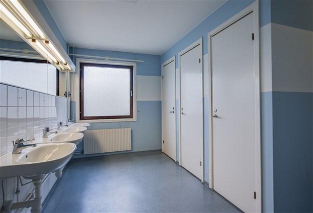 Ett exempel på toaletter, det finns ett stort antal toaletter