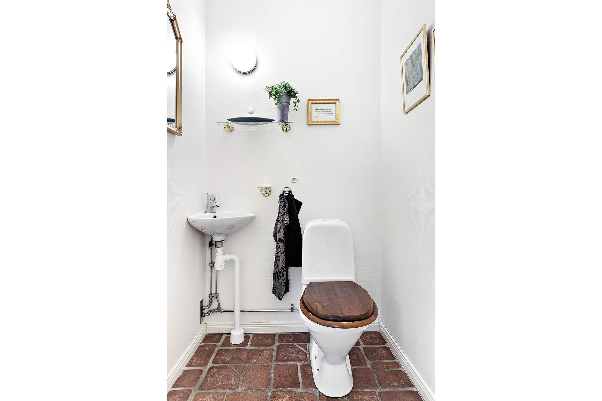 WC, entréplan