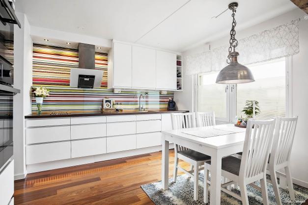Trendigt och stilrent kök