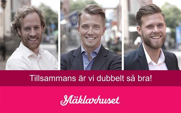 """Halmstads individuellt mest anlitade mäklare 2014, 2015, 2016, 2017, 2018 & 2019! Vunnit priser såsom """"Årets Mäklare"""" och """"Nöjdast Kunder""""."""