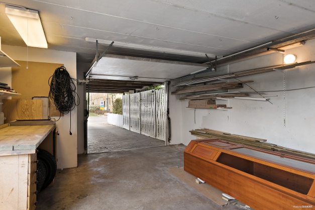 Garage mot carport