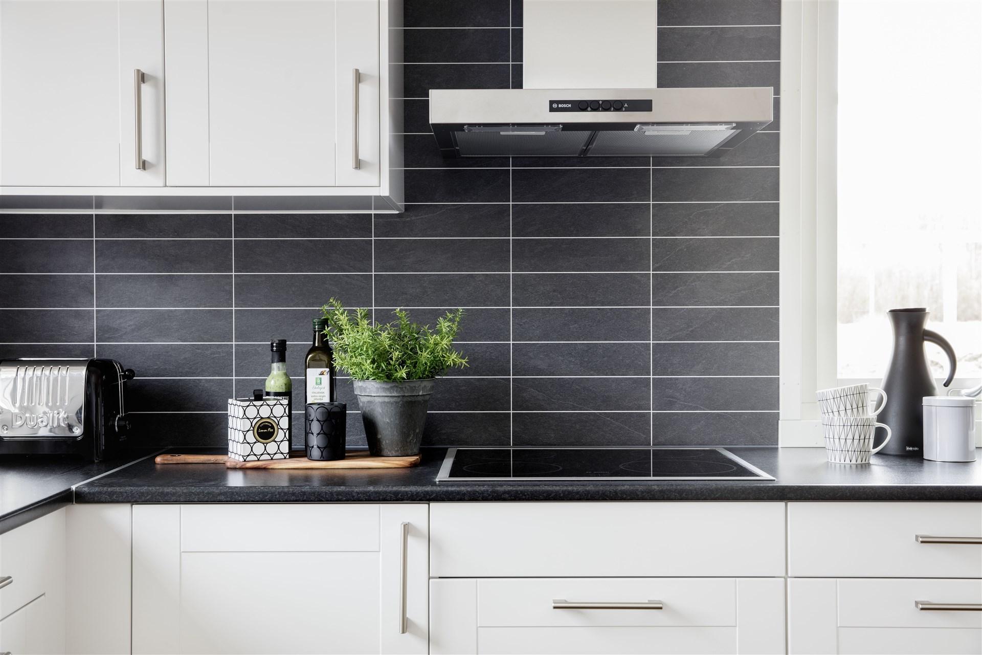 Köksdetalj  Avvikelser kan förekomma