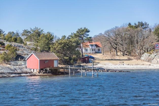 Fastighet från havet/kosterbåten