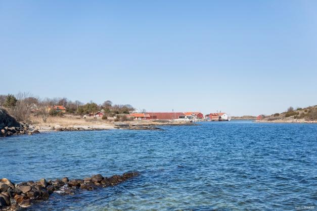 Ekenäs hamn från sjöbod