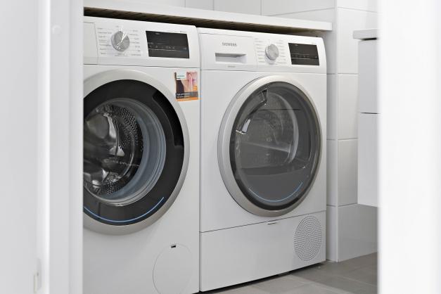 Egen tvättmaskin och torktumlare