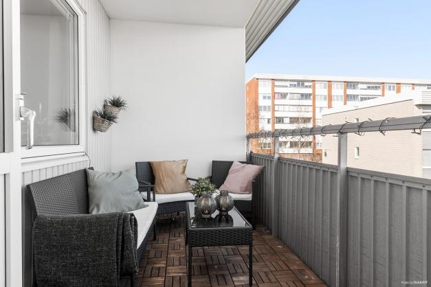Möblerbar balkong..