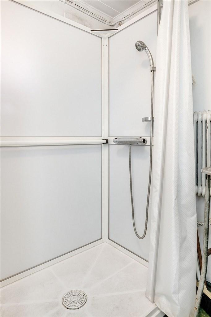 Dusch i pannrummet