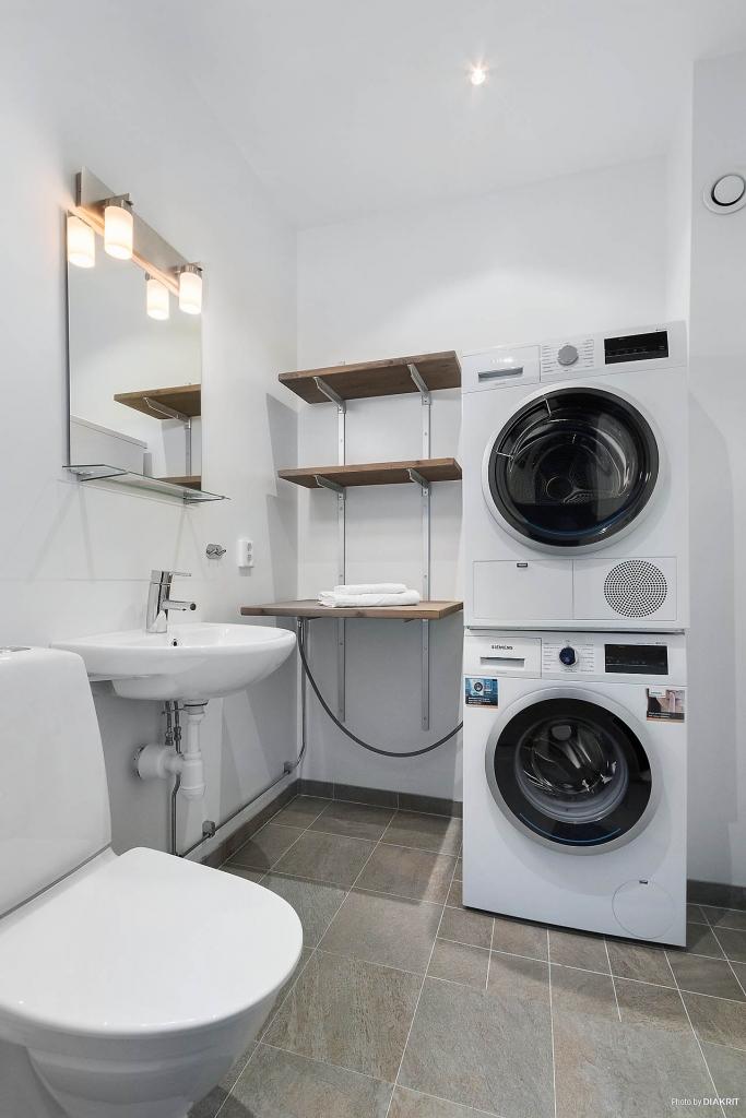 WC/Tvätt entréplan