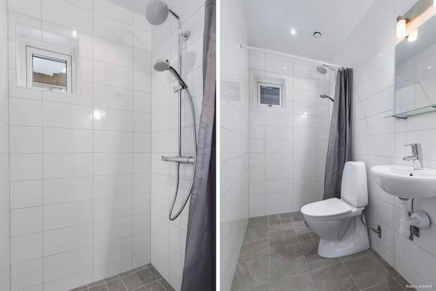 WC/Dusch nedre plan