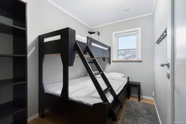 Sovrum fyra nedre plan