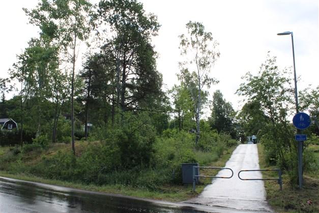 Allmänväg till busshållplats