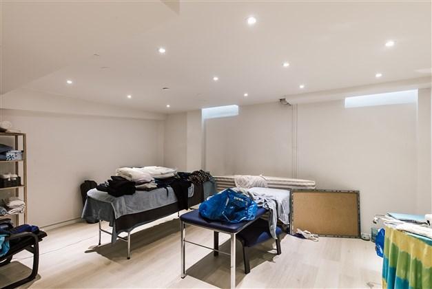 Rum i källardelen