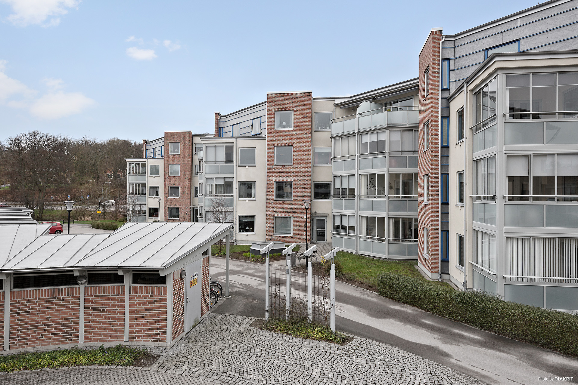 Brf Garvaregården i Karlshamn (tidigare Bryggeritomten)
