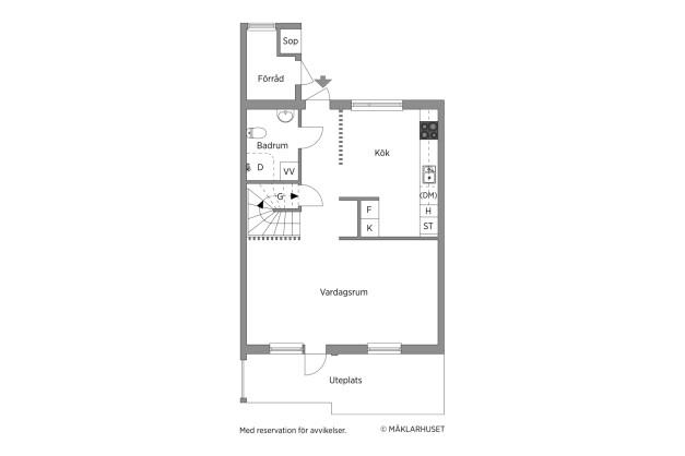Planritning våning 1