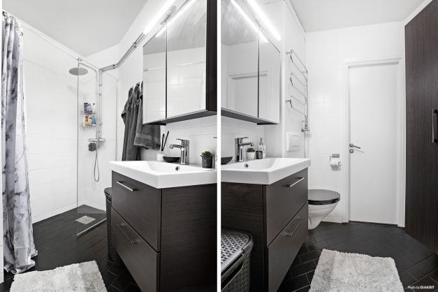 Fräsch toalett/dusch