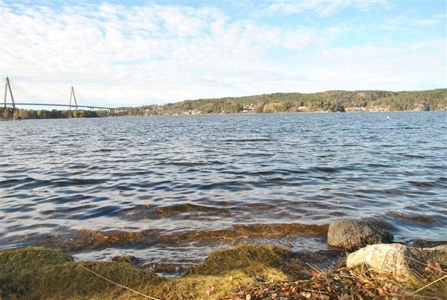 Närhet till salta bad vid Byfjorden