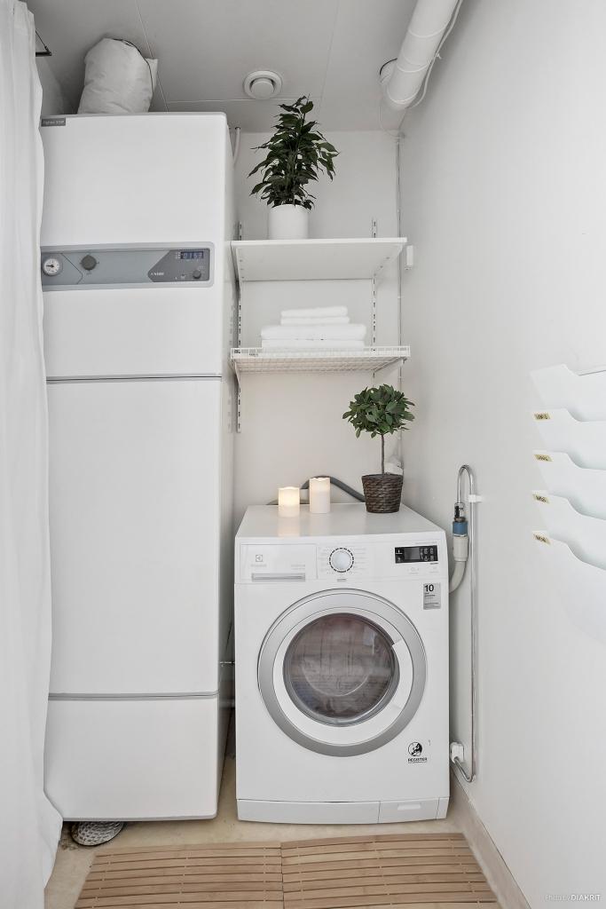 Tvättstuga entréplan