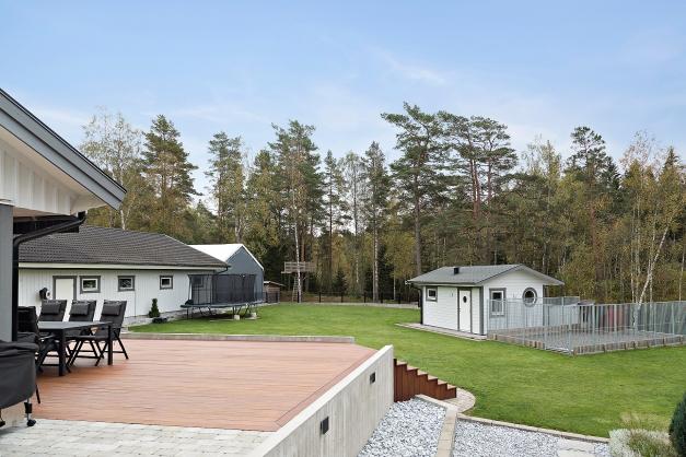 Bastuhuset och hundgården