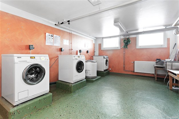 En av föreningens tvättstugor.