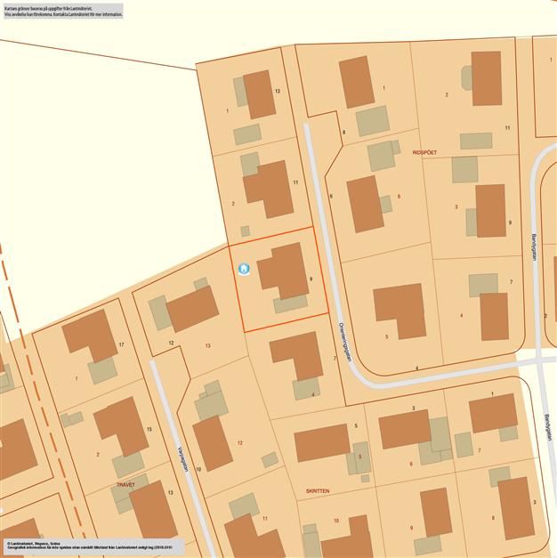 Fastighetskarta där man ser hur det gamla huset låg. Kanske kan man få en del tips på läget mm.