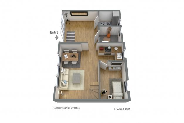 Möblera stugan
