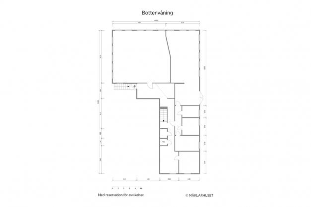 Planritning 2-d bottenvåning