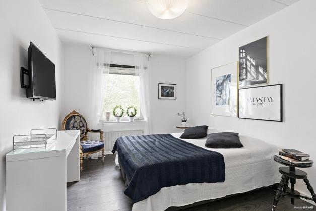 Sovrum 1 med plats för dubbel säng