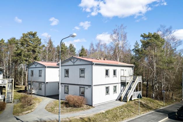 Husen vid skogsbrynet - ändå nära till Haninge centrum