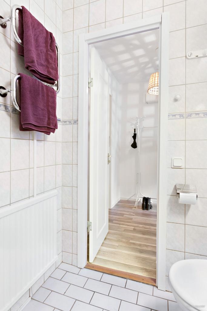 Duschrum mot hall.