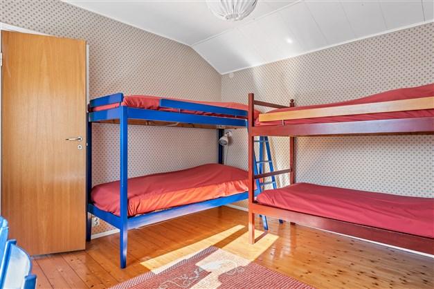 Sovrummet innanför köket