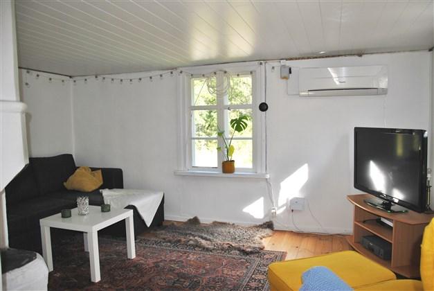 Vardagsrum från passage
